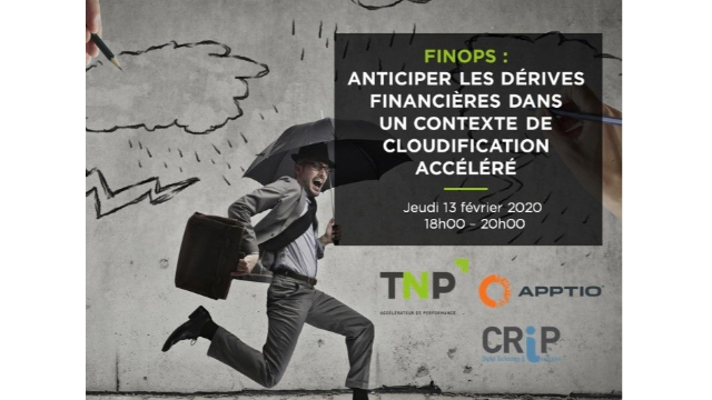 TNP Consultants : Evènement Cloud - FinOps à l'InterContinental Marseille