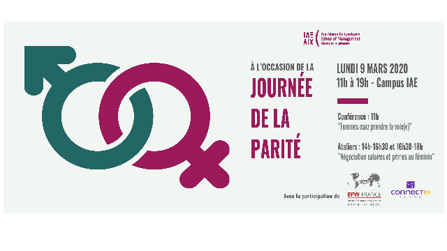 INVITATION JOURNEE DE LA PARITE / LUNDI 09 MARS