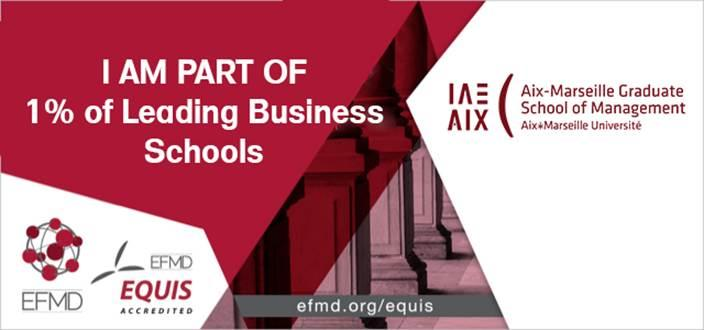 IAE Aix-Marseille : RE-ACCREDITATION EQUIS 5 ans !